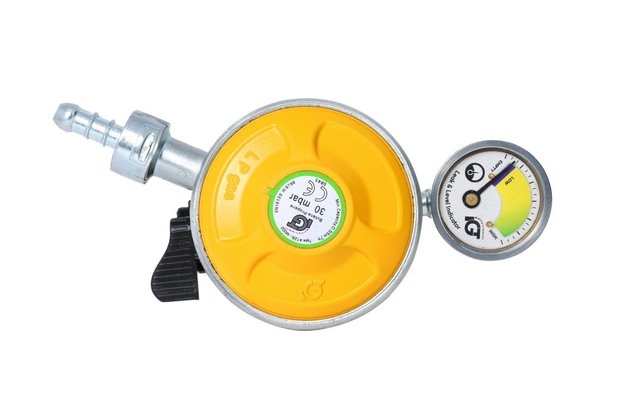 IGT Domestic Gas Safety Device/ Metal Leak Detector/ Regulator/ On/Off Adaptor