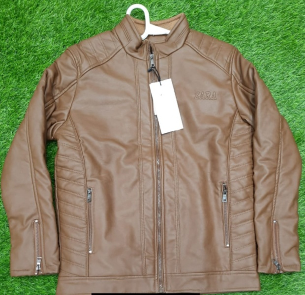 Zara Tr Leather Jacket
