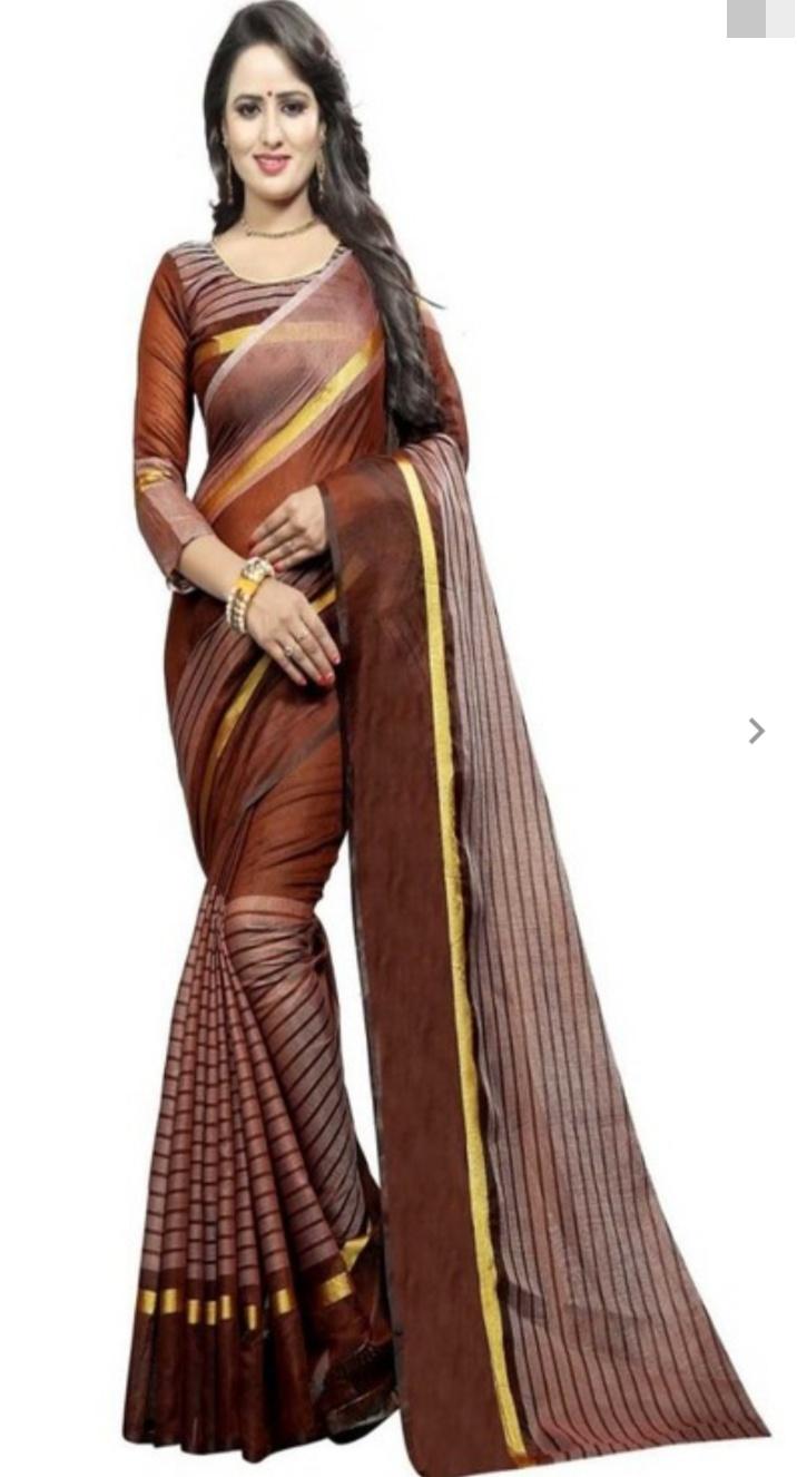 Cotton Chanderi Saree Combo 12pc