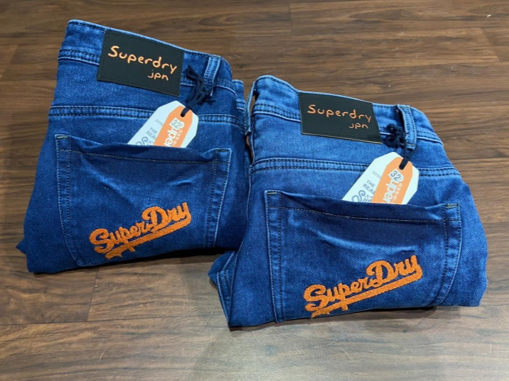 Superdry Stylish Jeans 2PC Pack