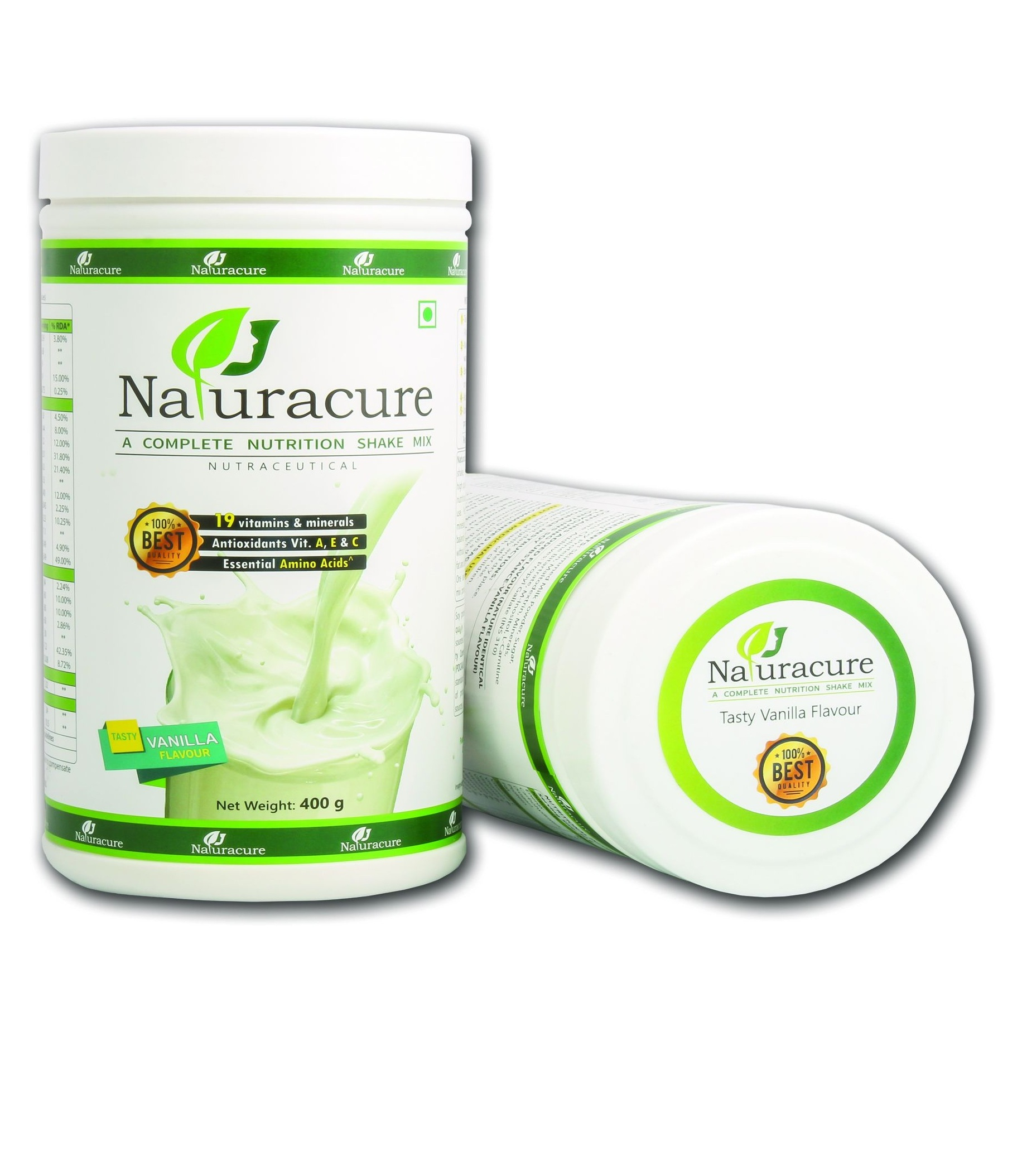 Naturacure Nutritional Shake Mix (Vanilla)
