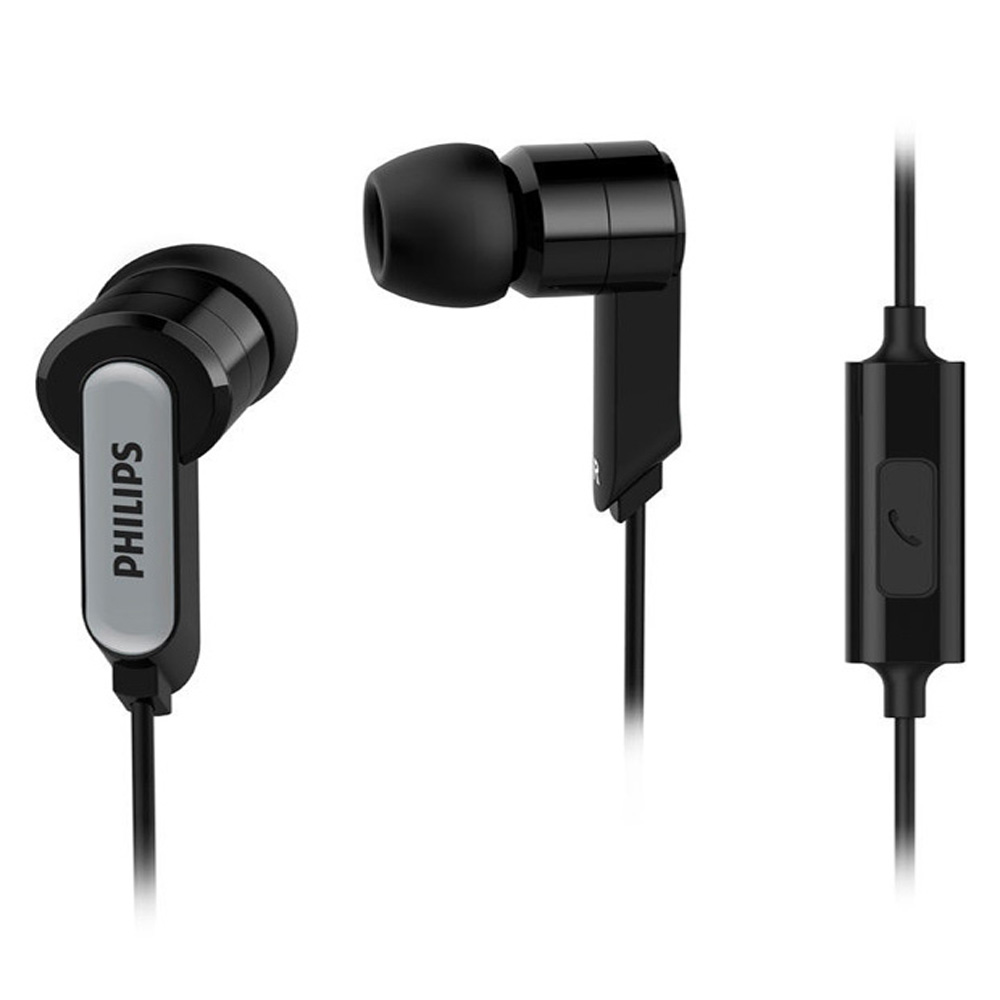 Philips SHE1405 InEar Earphones with mic (Black)