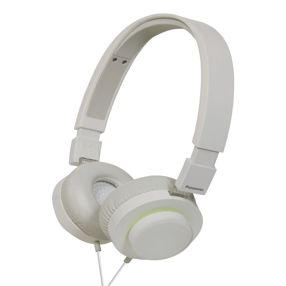 Panasonic RP-HXD5WE-W Over Ear Headphones (White)