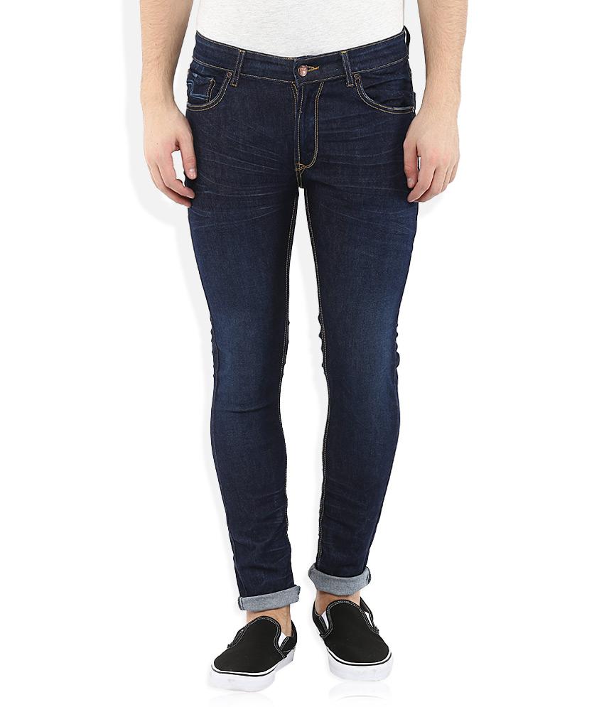 Seasons Navy Skinny Fit Jeans