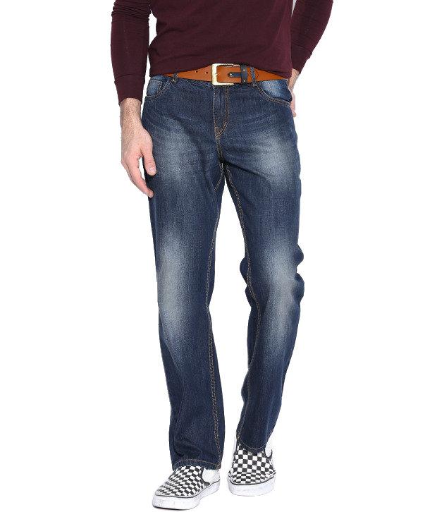 Seasons Navy Regular Fit Jeans