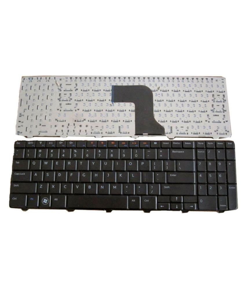 Dell Inbuilt Internal Laptop Keyboard Black