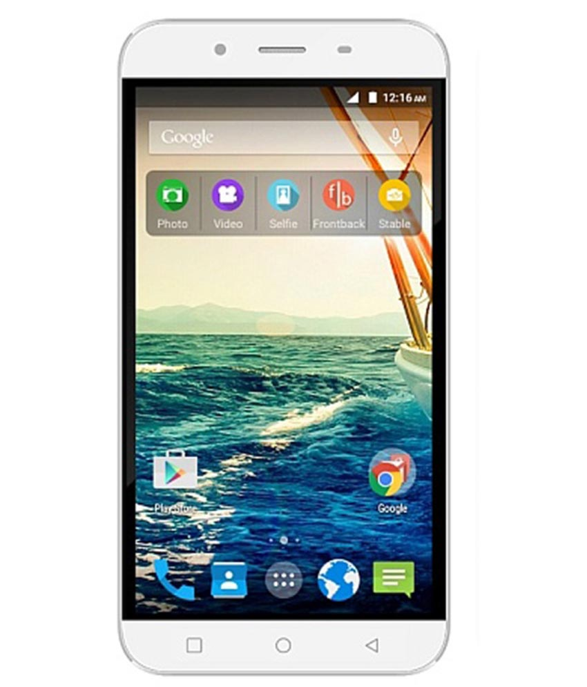 Micromax Q391 8GB White