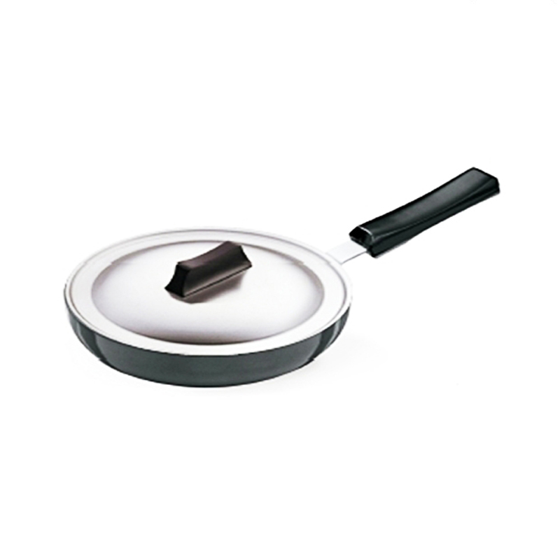 Hawkins 22 cm Dia Frying Pan with Stainless Steel Lid