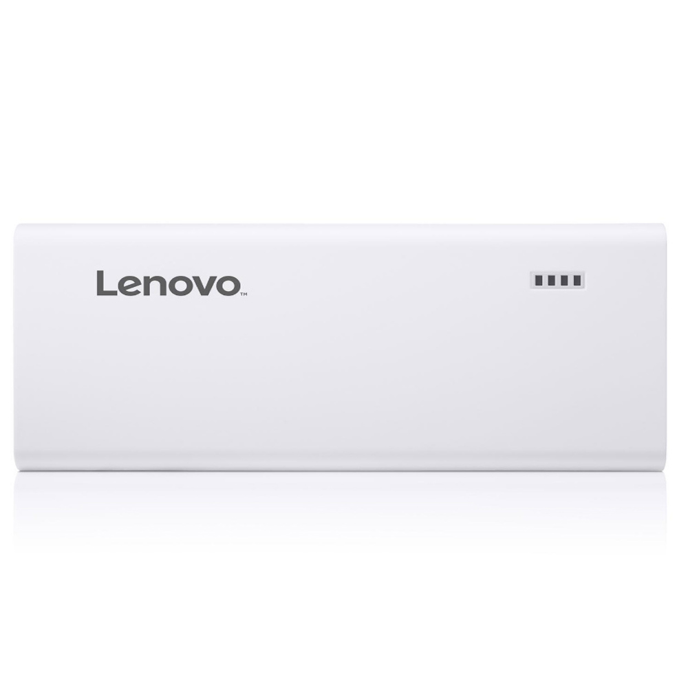Lenovo 10400 mAh Power Bank - White