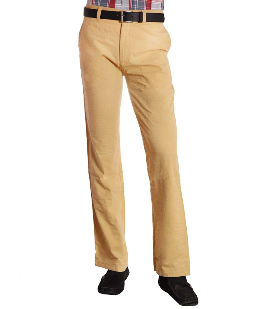 Khakhi Straight Formal Trouser