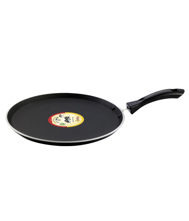 Pigeon Flat Non -Stick Tawa with Induction Base - 280 mm